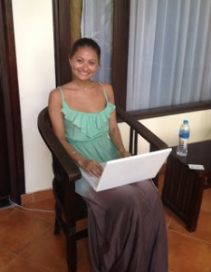 Writing my first blog entry.