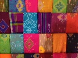Handmade Ikat Fabric
