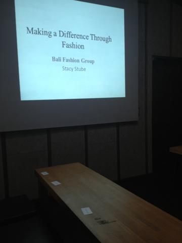 Presenting at BEDO