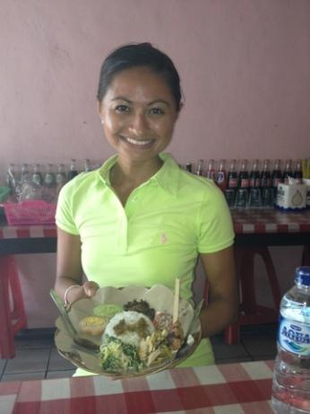Traditional Lunch Ayam Betutu