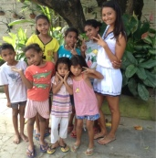 Teaching at Orphanage