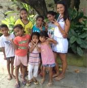 Teaching at Orphanage
