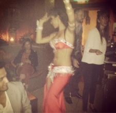 Belly Dancer at Levant