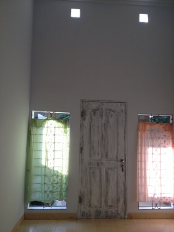 Temporary Sarong Curtains