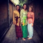 Attending a Balinese wedding