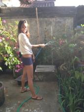 Nourishing my garden