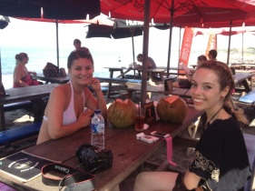Breakfast at Echo Beach
