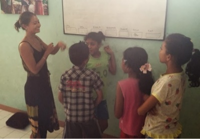 Teaching At The Orphanage Again - Such A Blessing