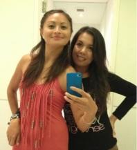 Girl Talk & Posing With Di In The Bathroom