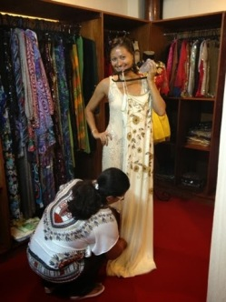Measuring Maxi Dress Lengths