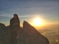 Sunrise on Gunung Agung