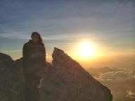 Sunrise on Gunung Agung