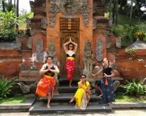 Temple Posing