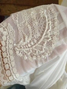 Little details; lace and beading