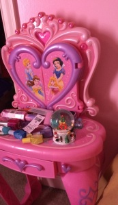 Love her princess room
