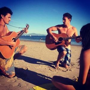 Gotta love Cali Surfers