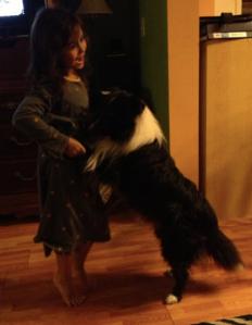 Sam and Fania dancing