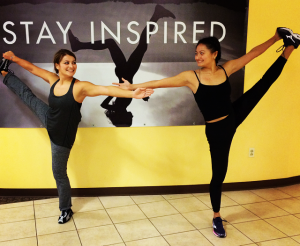 Love my sister Grace and our awesome yoga sessions.