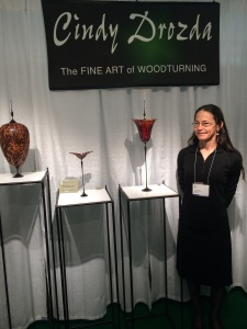 Many of the artist teach their craft and have come to the show from all over the USA.