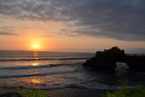Tanah Lot Sunset in Bali