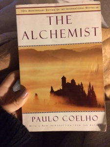 I found the book that inspired me to go for my dream (my original copy).