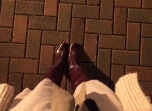 I love these boots.