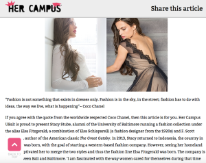 Recent Article Features - Her Campus