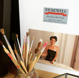 Stonewell Studio and a hot shot of our lovely artist.
