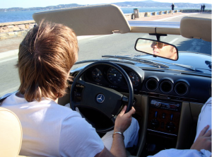 Loved the drives in a vintage ride with the riviera flowing through my hair.