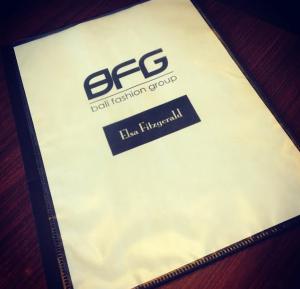 'Business folder'