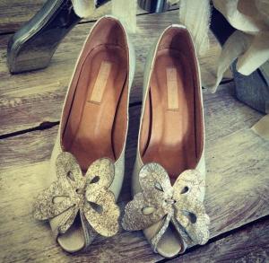 Elsa Fitzgerald New Shoe Design - first samples