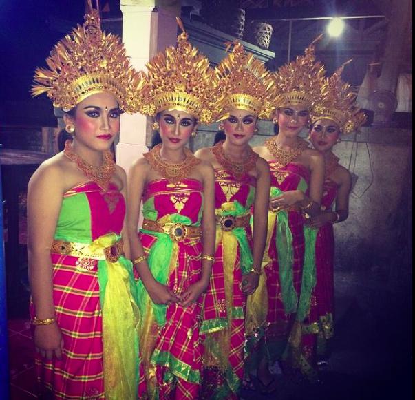 Beautiful Balinese Dancers